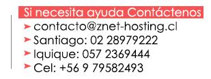 Datos de contacto, telefonos, email, celulares