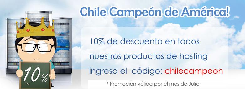 Descuento 10% Chile campeón